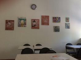 """Выставка картин в столовой НГДУ """"Ишимбайнефть"""".--337679353"""